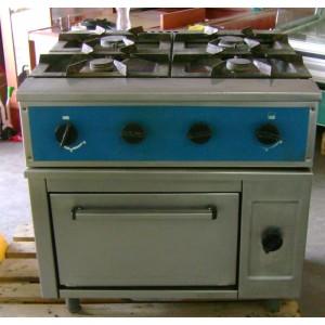 Profesjonalna Kuchnia Gazowa Market System Wyposażenie Sklepów